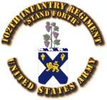 COA - Infantry - 102th Infantry Regiment
