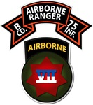 B Co 75th Ranger - VII Corps (Airborne)