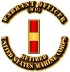 USMC - Warrant Officer - WO - Retired
