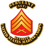 USMC - Sleeve - SGT - Retired