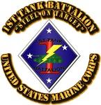 USMC - 1st Tank Battalion with Text