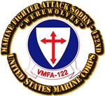 USMC - Marine Fighter Attack Sqdrn - 122nd with Te