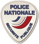 Police Nationale France Police without Text
