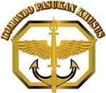 Komando Pasukan Khusus Badge with Tecx