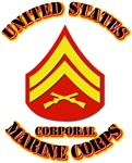 USMC - Corporal with Text