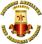 Army - 82nd Abn Div (DIVARTY) - DUI