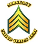 Army - Sergeant E-5 w Text