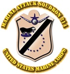 Marine Attack Squdron 214 with Text