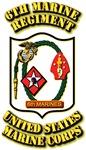 USMC - 6th Marine Regiment with Text