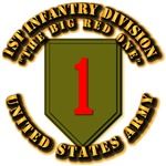 Army - 1st Infantry Div - Big Red One