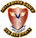 AAC - 385th Bomb Group, 8th Air Force