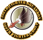 AAC - 398th Fighter Squadron, 369th Fighter Group