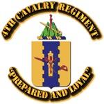 COA - 4th Cavalry Regiment