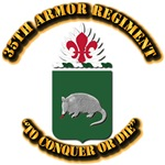 COA - 35th Armor Regiment