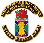 COA - 108th Armor Regiment