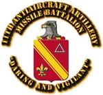 COA - 11th Antiaircraft Artillery Missile Battalio