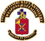 COA - 10th Antiaircraft Artillery Automatic Weapon