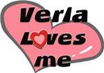 verla loves me