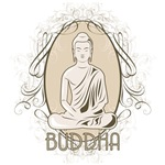 Elegant Buddha in Meditation