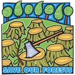 Save Our Forests T-shirts and Gifts