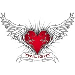 Twilight Heart T-Shirts and Gifts