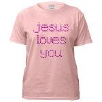 Pink Christian T Shirts