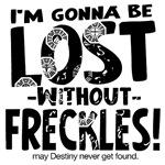 Lost without Freckles Lost Fan Gear