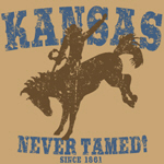 Kansas - Never Tamed (Bronco)