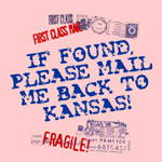 Mail Me To Kansas!