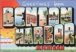 Benton Harbor Vintage Postcard