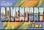 Davenport Vintage Postcard