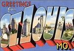 Saint Louis Vintage Postcard