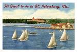 St. Petersburg Vintage Postcard