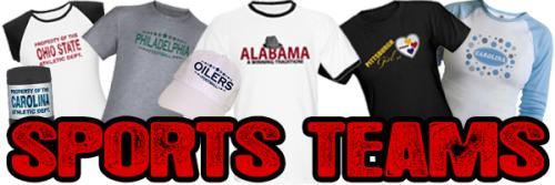 SPORTS TEAM FAN PRODUCTS