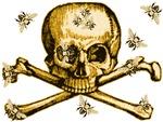 SKULL, BONES & BEES