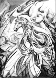 Vampiric Crystalline Horse Entity