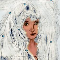 White Eagle Cloud Woman, Native American Art Gifts