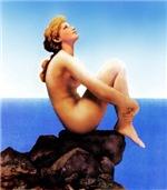 Maxfield Parrish 1870-1966/Girls On Rocks