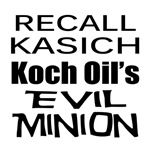 Recall Governor John Kasich Koch Oil's Minion