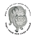 Pigs Are Not Our Whole Lives But, They Make Our Li