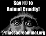 SAY NO TO ANIMAL CRUELTY