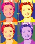 Hillary Pop Art