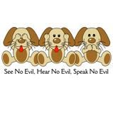 No Evil Puppies