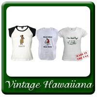 Vintage Hawaiiana Inspired Apparel