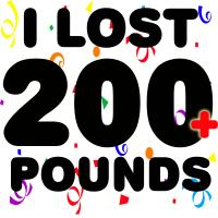 I Lost 200+ Pounds!