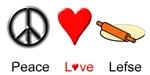 Peace Love Lefse
