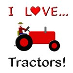 I Love Red Tractors