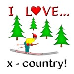 I Love X Country