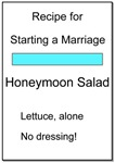 Honeymoon Salad Recipe