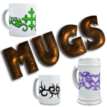 MUGS AND MORE MUGS!